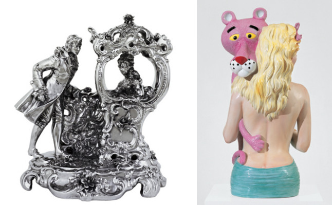 (좌) French Coach Couple (Statuary) / (우) Pink Panther (Banility)